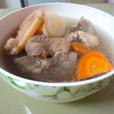 山药莲藕排骨汤