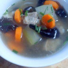 冬瓜排骨营养汤