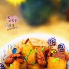 鲜辣排骨炖土豆