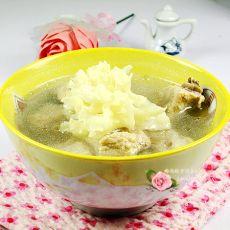 荷仙菇排骨汤