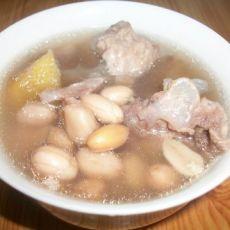 花生排骨汤