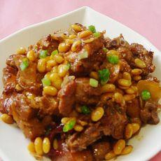 黄豆焖排骨肉