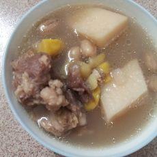 排骨板栗汤