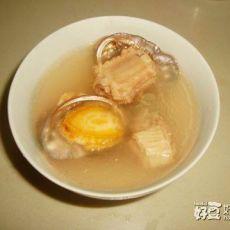 小鲍鱼排骨汤