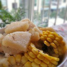 玉米淮山炖排骨