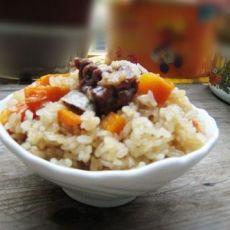 胡萝卜排骨糯米饭
