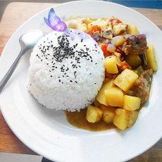 咖喱排骨饭