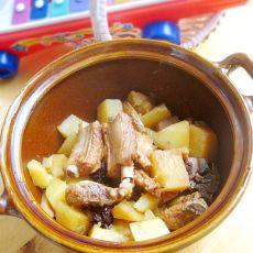 砂锅排骨烧土豆