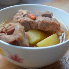 排骨炖土豆浓汤煲