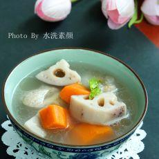 莲藕胡萝卜猪骨汤的做法