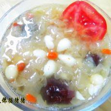 滋补甜品―银耳莲子羹的做法