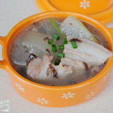 紫菜冬瓜肉片汤的做法