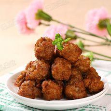 莲藕豆腐猪肉丸子的做法