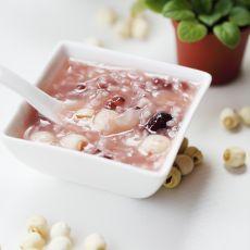 莲子银耳红豆粥的做法