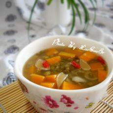 百合南瓜绿豆汤