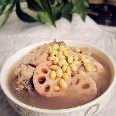 黄豆莲藕煲猪骨