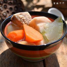 莲藕冬瓜瘦肉汤