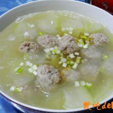 冬瓜丸子粉丝汤