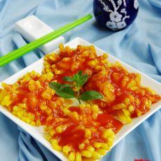 茄汁菊花冬瓜的做法