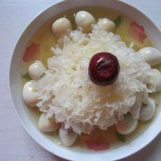 甘草银耳鹌鹑蛋的做法