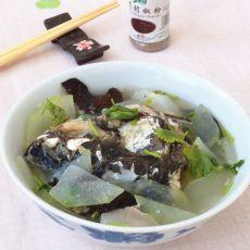 冬瓜鱼汤的做法