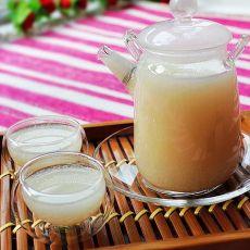 自制健康藕汁的做法