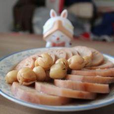 莲子糯米藕