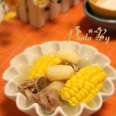 粟米马蹄排骨汤