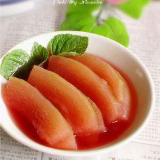 胭脂冬瓜的做法