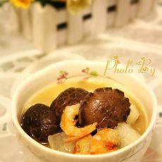 金钩香菇冬瓜汤