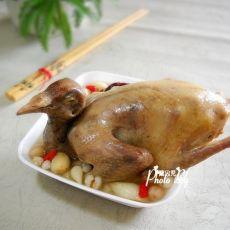薏米百合炖乳鸽