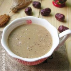 红枣银耳燕麦米糊的做法
