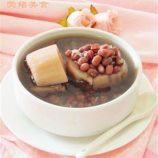 红小豆莲藕汤的做法