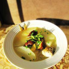 冬菇冬瓜煲鱼汤