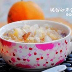 脆梨红枣银耳汤的做法