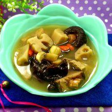莲藕瘦肉清汤