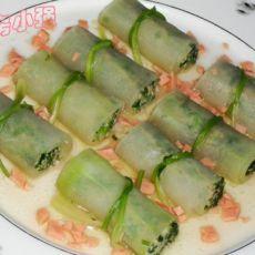冬瓜香菜肉卷