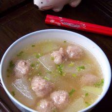 原创首发:冬瓜肉丸汤