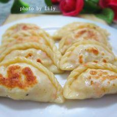 三鲜蛋肉煎饺的做法