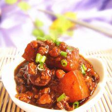 豆豉肉末烧冬瓜的做法
