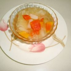 梨子木瓜银耳汤