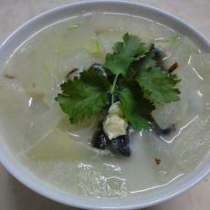 皮蛋冬瓜汤