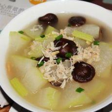 香菇干贝冬瓜汤
