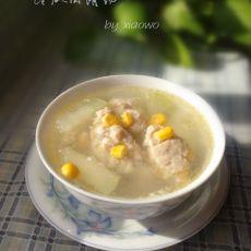 冬瓜肉滑汤