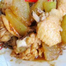 鸡块炖冬瓜