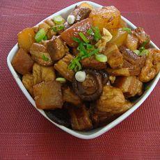 豆泡红烧肉的做法