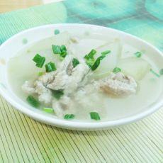 冬瓜肉丝汤