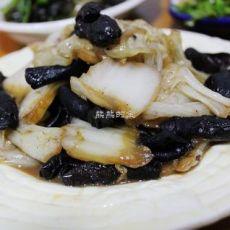 蒜蓉黑白菜