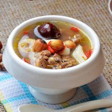 莲子红枣鸡汤