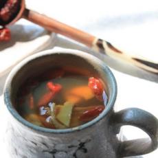 当归生姜红枣红糖茶的做法